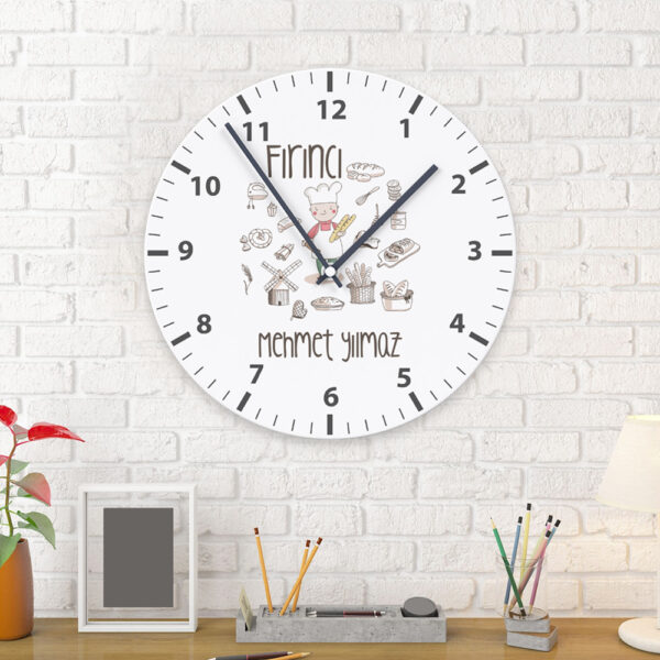 Fırıncı Duvar Saati