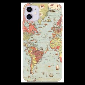 Harita Telefon Kılıfı